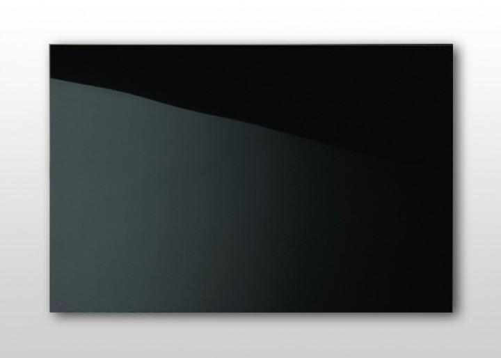 infrarotheizung nomix glas black 500 watt glasheizung ohne rahmen. Black Bedroom Furniture Sets. Home Design Ideas